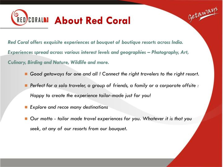 About red coral