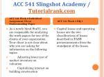 acc 541 slingshot academy tutorialrank com4
