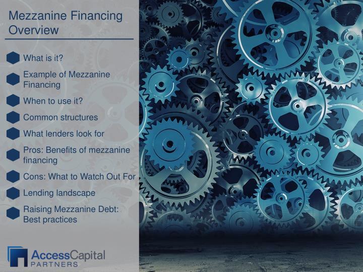 Mezzanine Financing