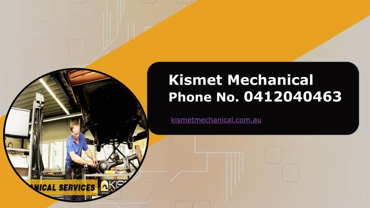 Kismet Mechanical