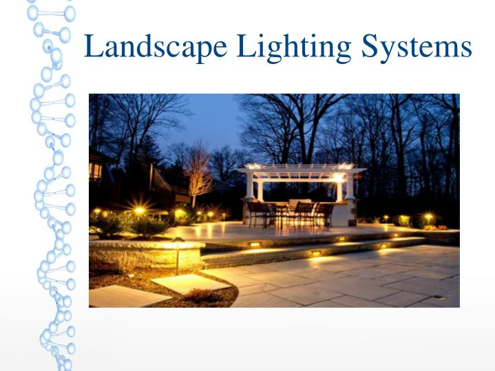 Landscape Lighting Systems