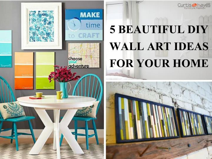 Diy Wall Art For Your Home : Ppt beautiful diy wall art ideas for your home