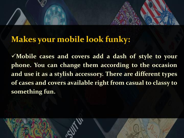 Makes your mobile look funky: