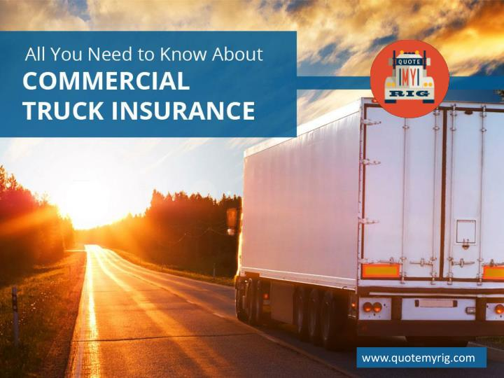 All you need to know about commercial truck insurance