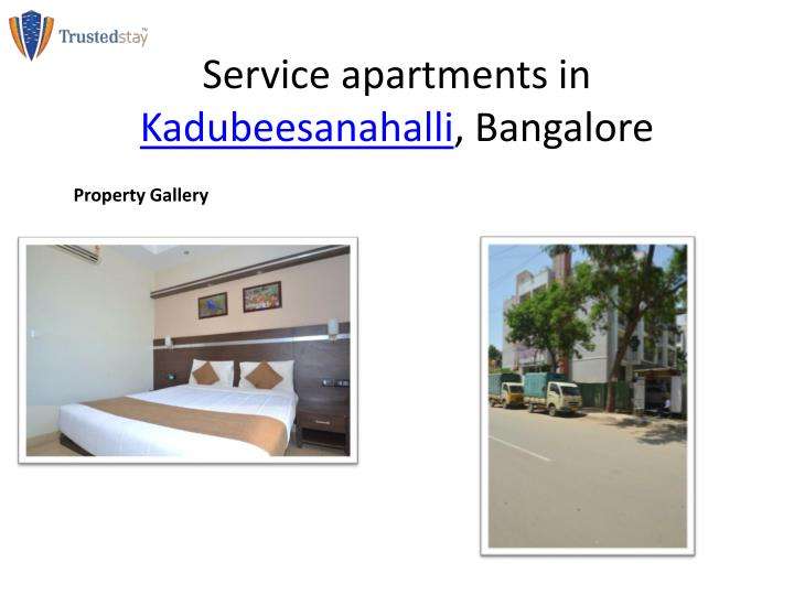 Service apartments in