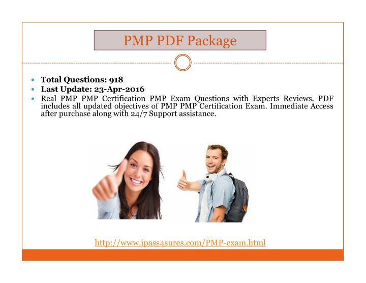 PMP PDF Package