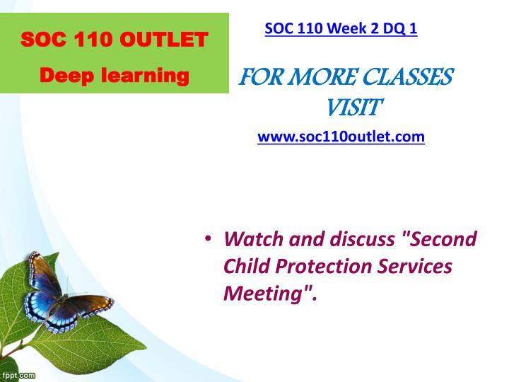 soc 110 week 2