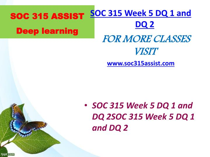 soc 315 week 3 learning team Soc 315 uop course tutorial / soc315dotcom soc 315 week 3 team assignment diversity action plan soc 315 week 5 learning team assignment equal rights.