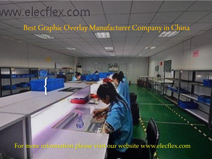 Best graphic overlay manufacturer company in china