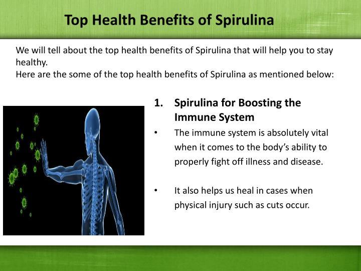 Top Health Benefits of