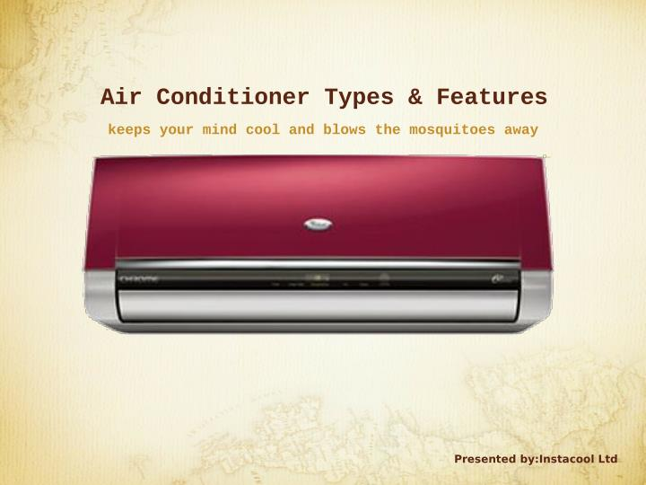 Air Conditioner Types & Features