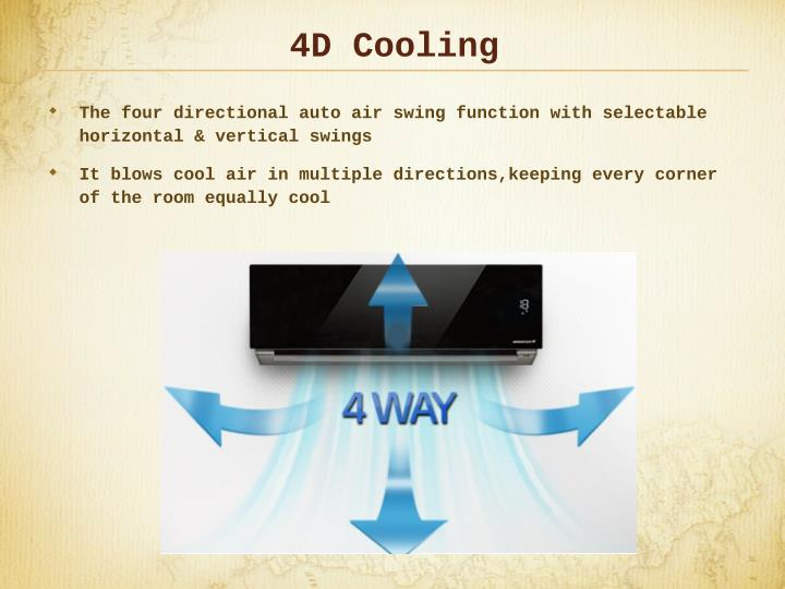 4D Cooling