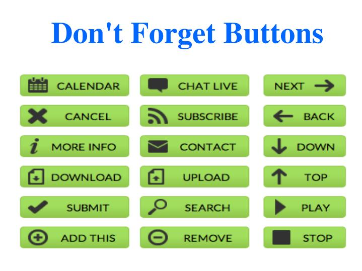 Don't Forget Buttons