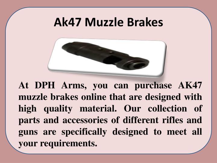 Ak47 Muzzle Brakes
