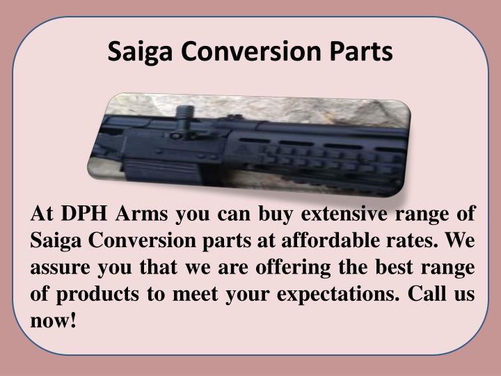 Saiga Conversion Parts