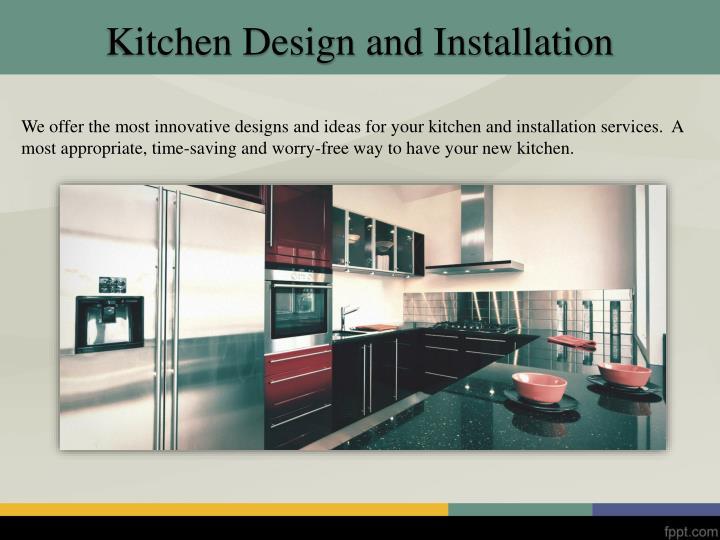Ppt Kitchen Installation Edinburgh Powerpoint