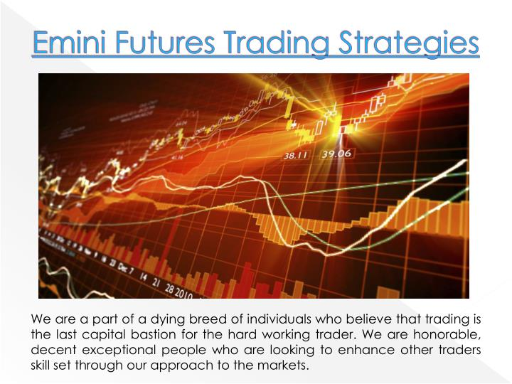 Managed futures trading strategies