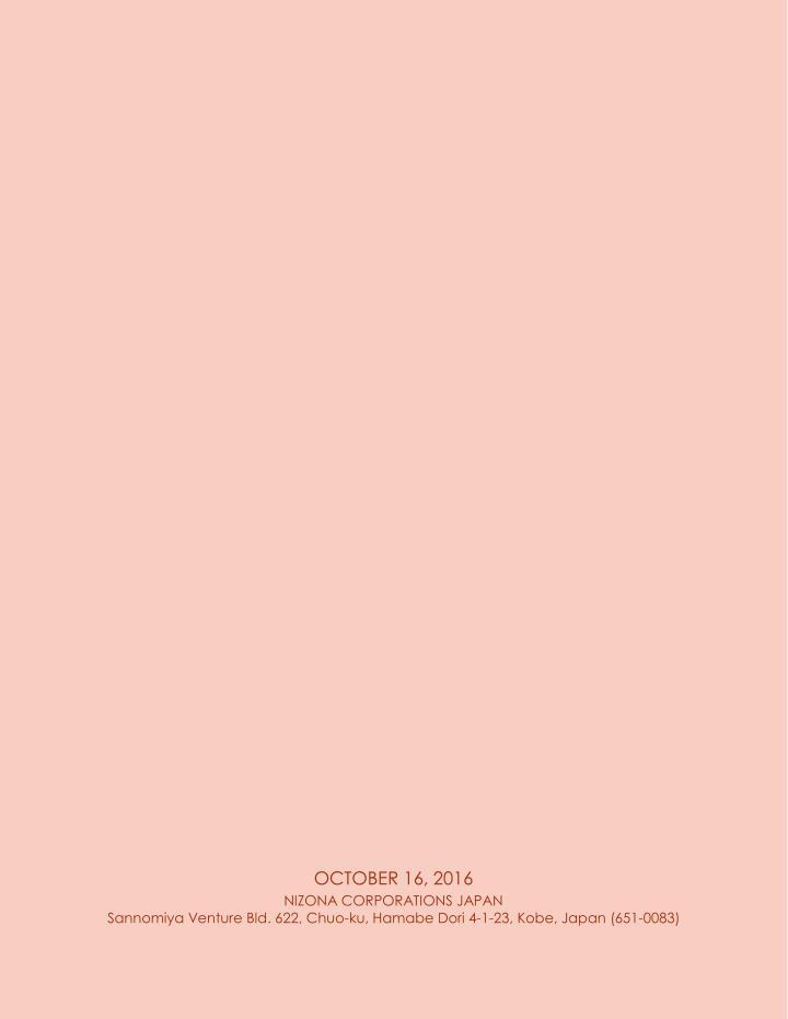 OCTOBER 16, 2016