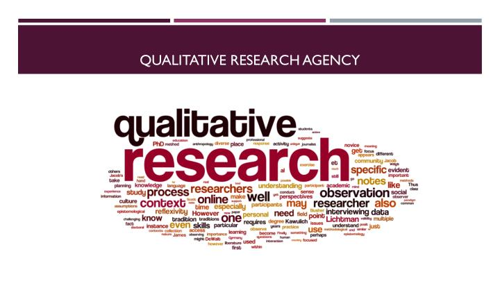 Qualitative research agency