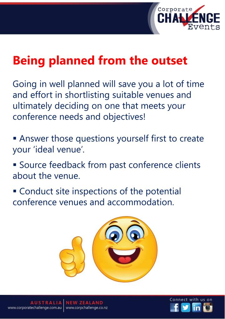 Being planned from the outset
