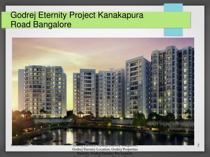 Godrej eternity project kanakapura road bangalore