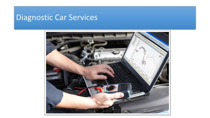 Diagnostic Car Services
