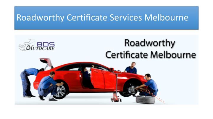 Roadworthy