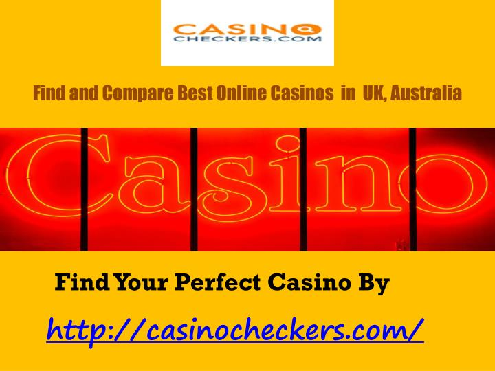 Find and compare best online casinos in uk australia