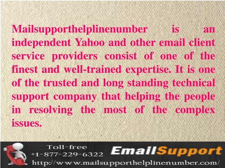 Mailsupporthelplinenumber
