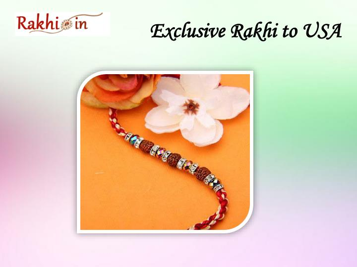 Exclusive Rakhi to USA