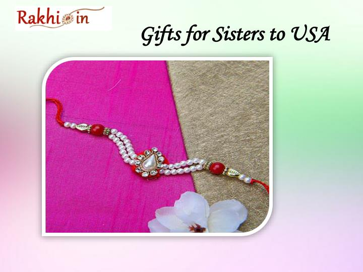 Gifts for Sisters to USA