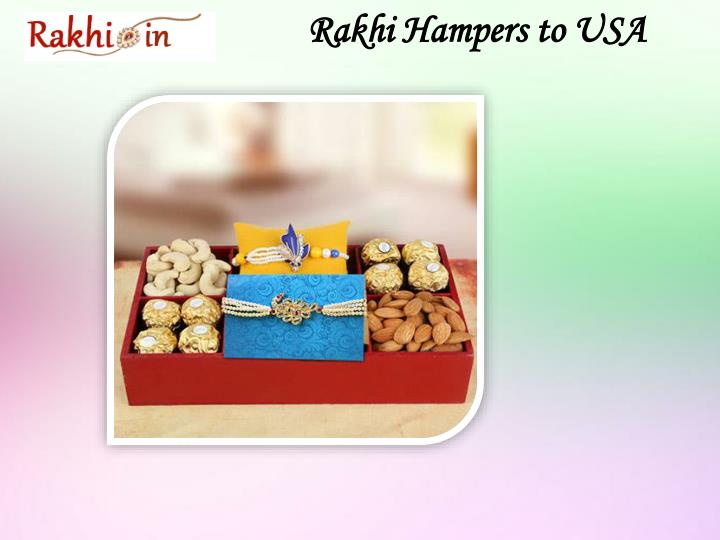 Rakhi Hampers to USA