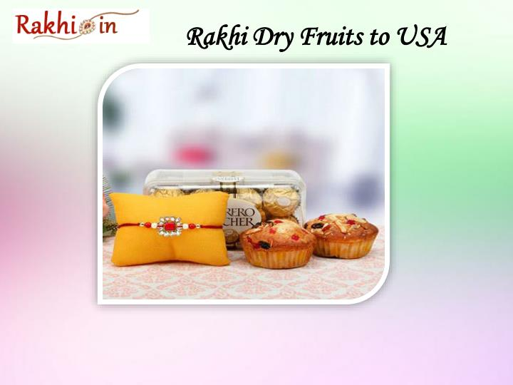 Rakhi Dry Fruits to USA