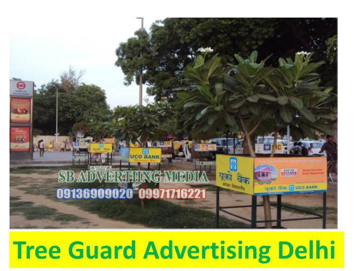 Tree Guard Advertising Delhi