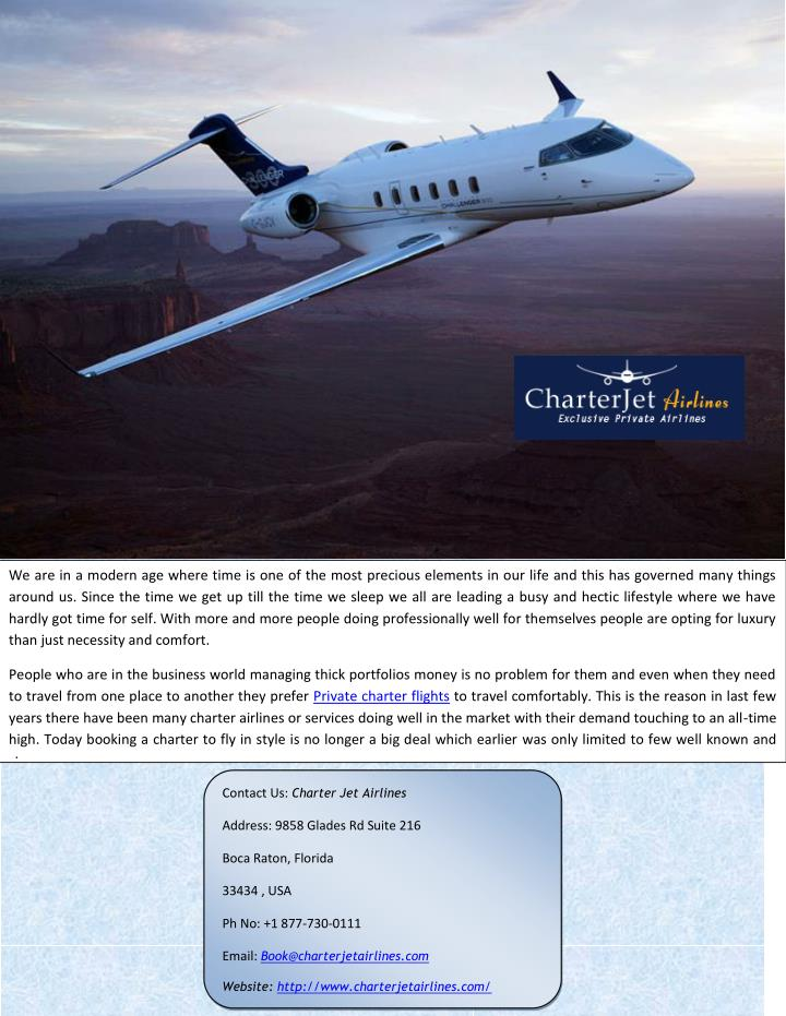 PPT  Private Jet Charter At Affordable Rates PowerPoint Presentation  ID73