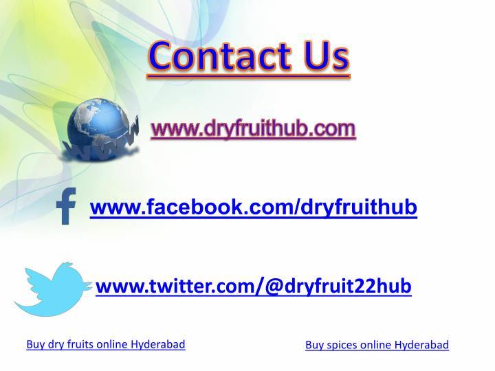 www.facebook.com/dryfruithub