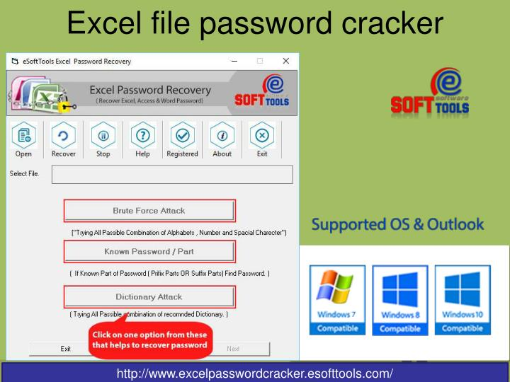 Excel file password cracker