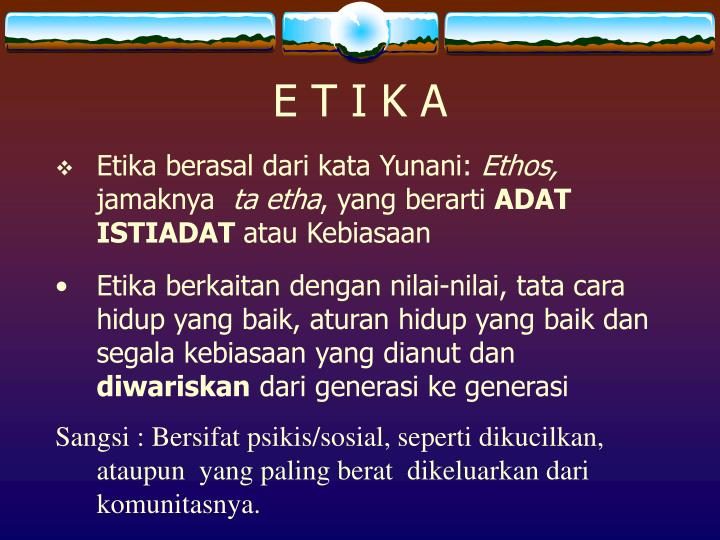 E T I K A