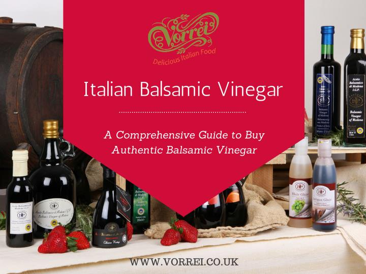 Italian Balsamic Vinegar