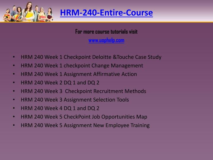 HRM-240-Entire-Course