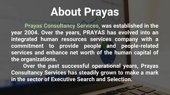 About Prayas