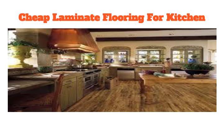 Cheap Laminate Flooring For Kitchen