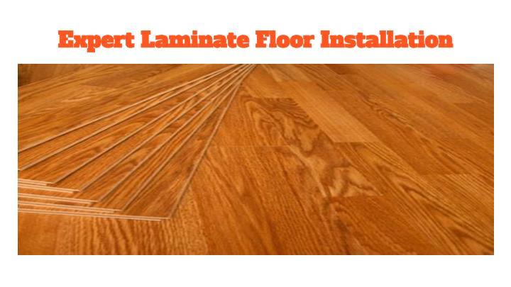Expert Laminate Floor Installation