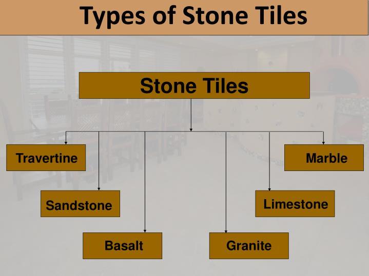 Types of Stone Tiles