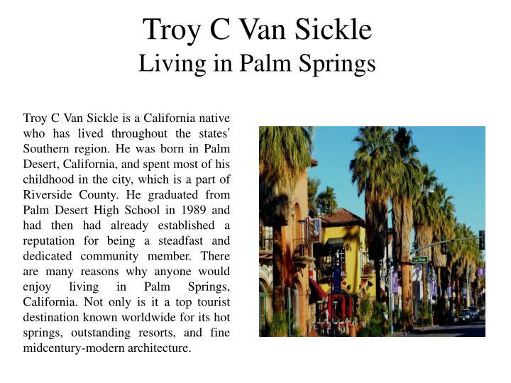 Troy C Van Sickle