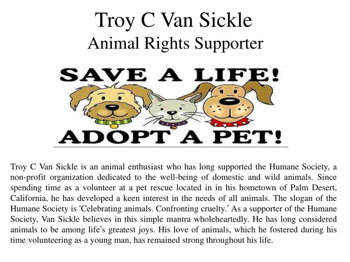 Troy C Van Sickle