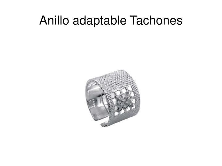 Anillo adaptable Tachones