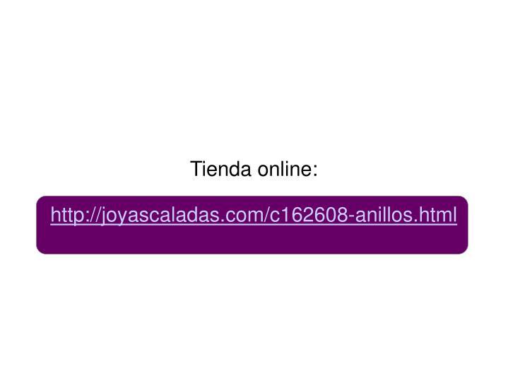 Tienda online: