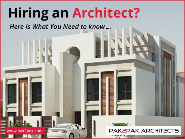 Hiring an architect here is what you need to know