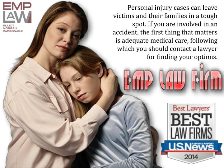 Personal injury cases can leave victims and their families in a tough spot. If you are involved in a...